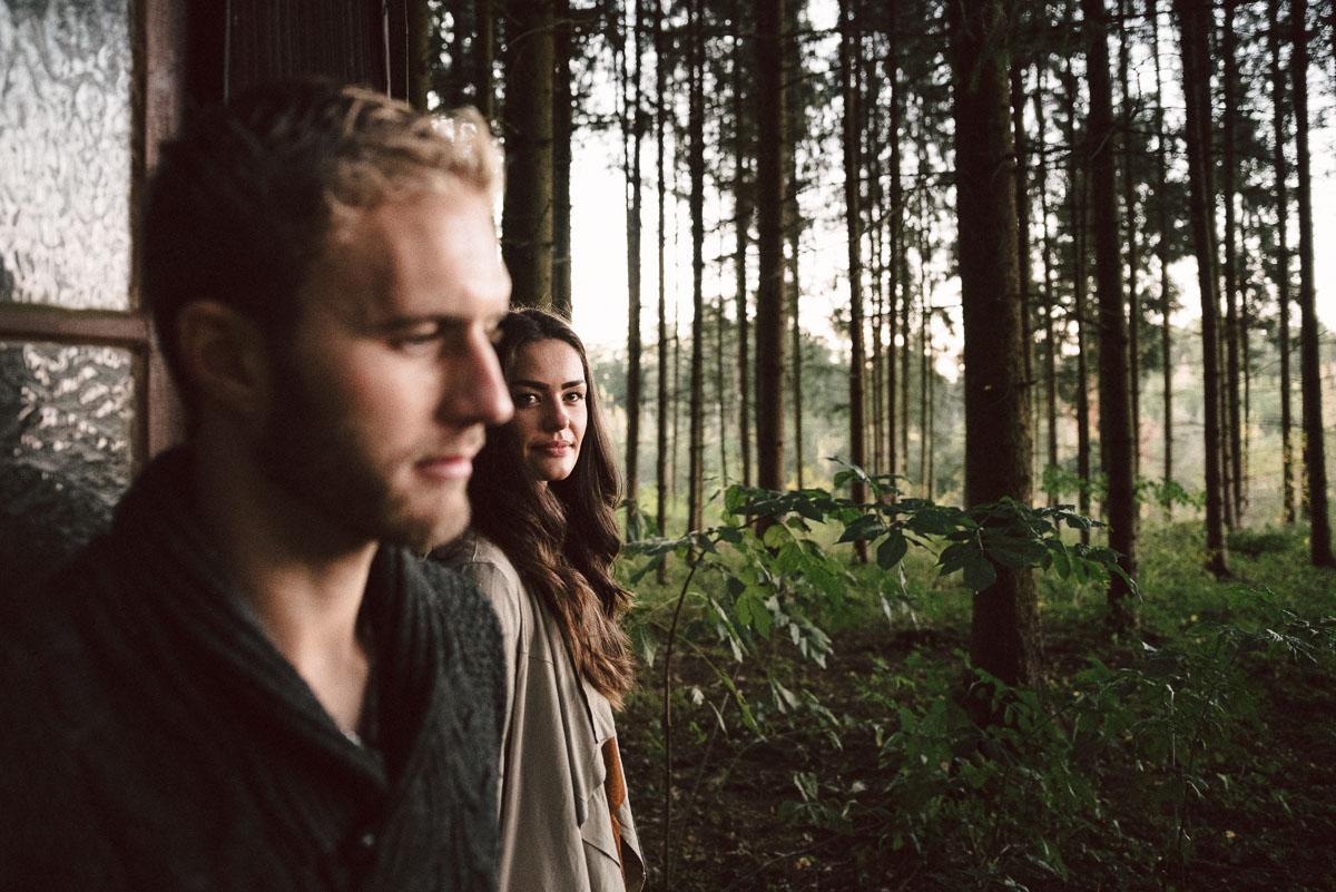 Coupleshooting in Egenhofen - Paarbilder mit Julia und Heiko