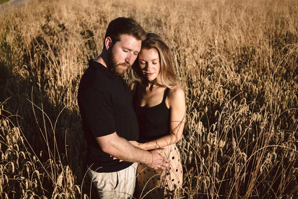 Outdoor Shooting zur Verlobung von Linda und Max