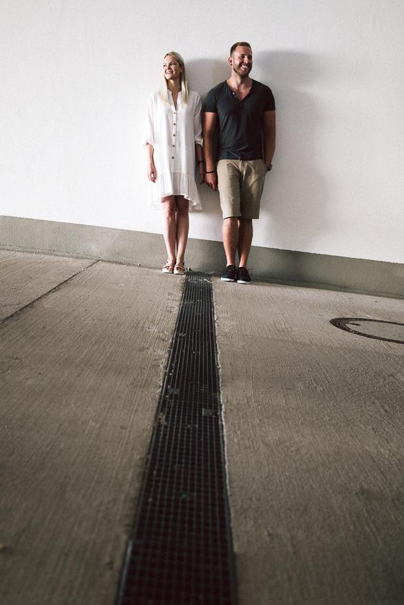 Irina und Daniel - Paarshooting im Textilmuseum Augsburg